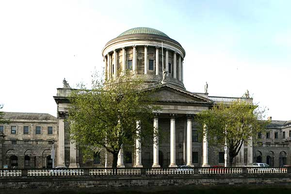 The Fourt Courts Building in Dublin, Ireland.