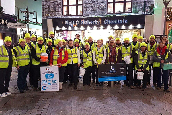 Carol singers fundraise in Galway