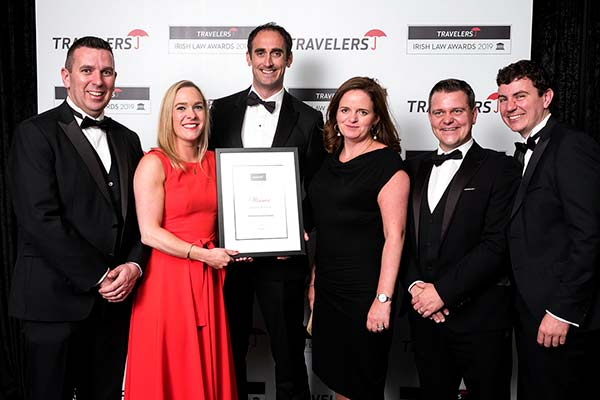 MacSweeney & Co Win Award For 3rd Year.